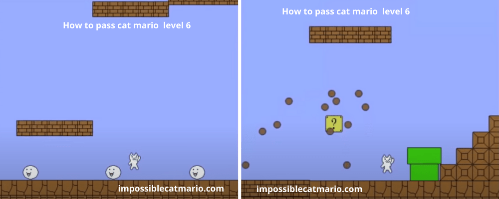 How to pass Cat Mario level 6